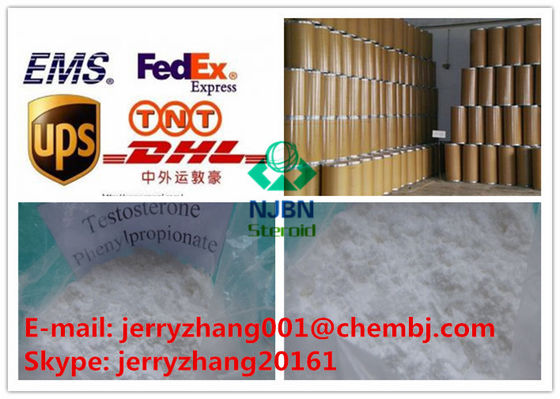 Het Testosteron Anabool Steroid CAS 1255-49-8 van testosteronphenylproprionate